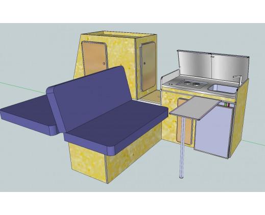 Kit Mobilier T3 à partir de 2920€