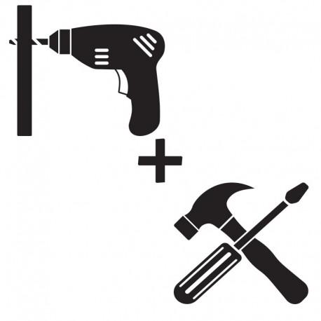 """Pré-montage """"Coup de boost"""" du Kit Mobilier Design"""