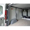 Base véhicule (isolation, plancher, parois)