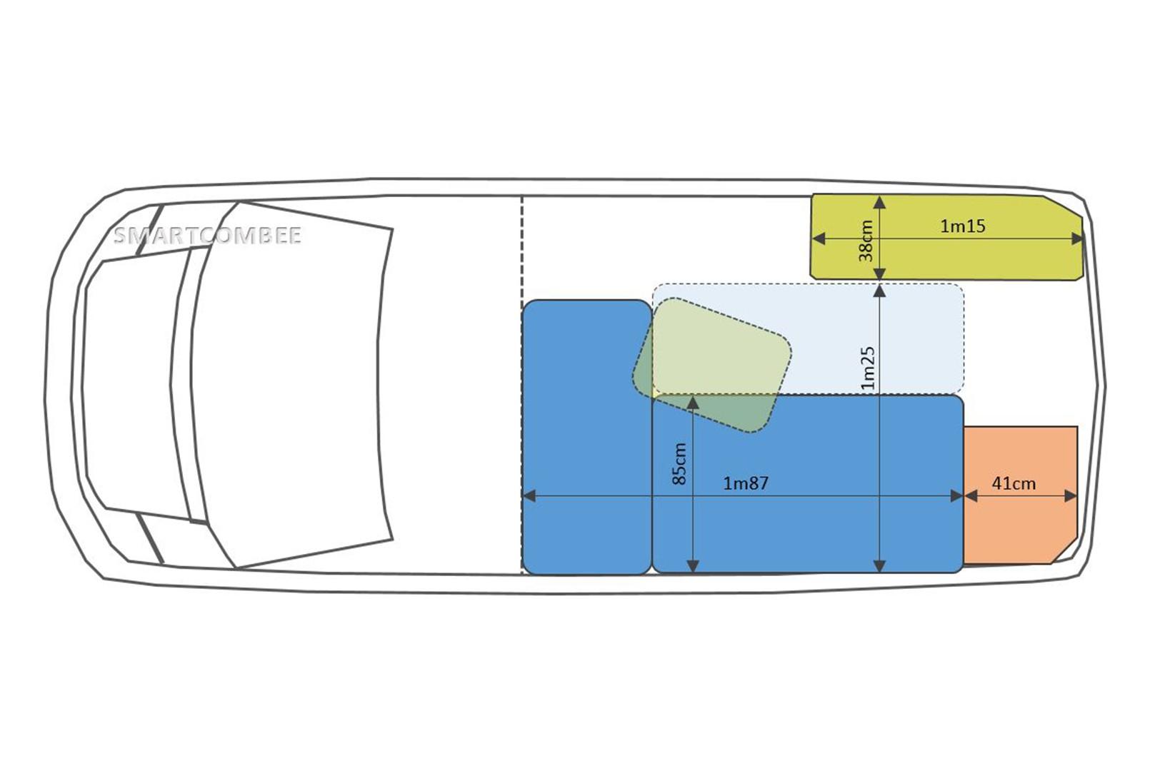 kit d'aménagement pour fourgon : kit Surf