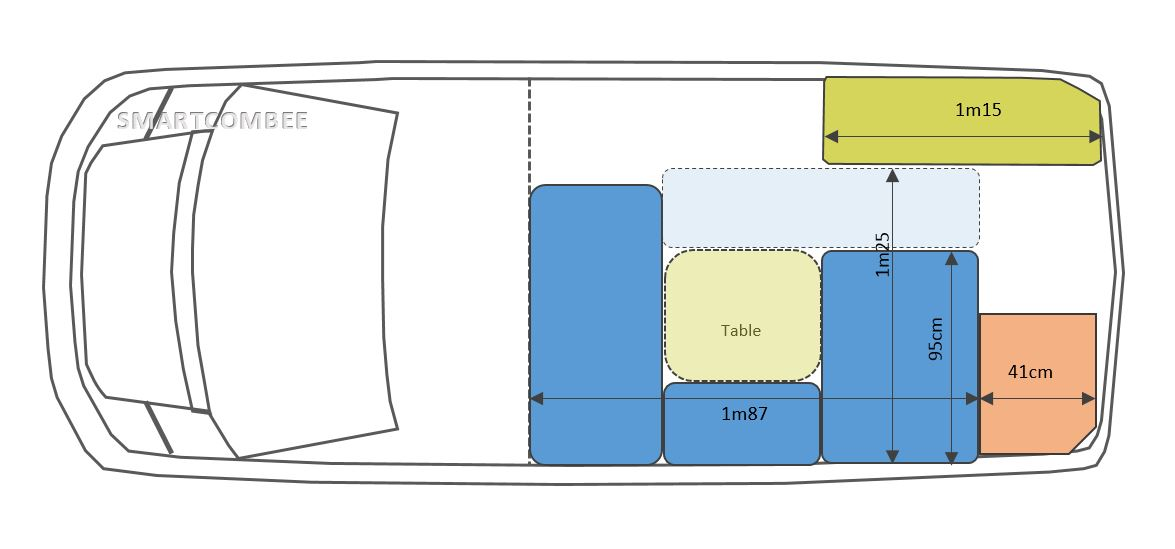 Berühmt Kits d'aménagement fourgon - camping car - smartcombee SQ79