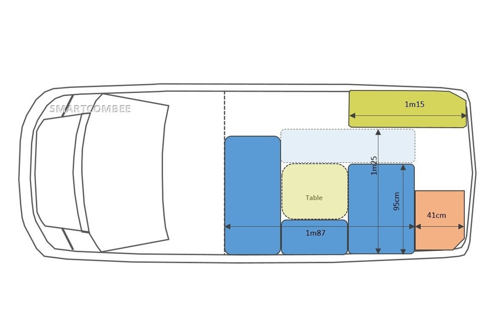 kit d'aménagement pour fourgon : kit convivialité