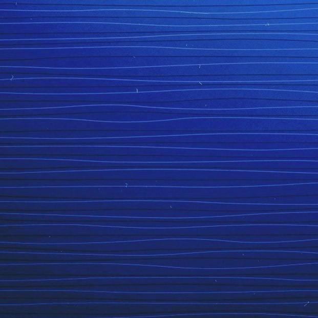 Spectrum blue sculpted