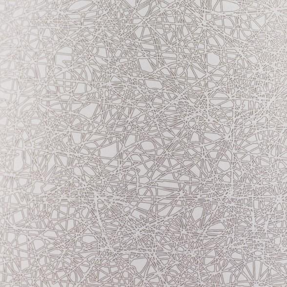 Geo white mat